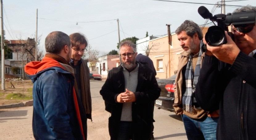 autoridades uruguayas recorrieron zonas afectadas inundaciones Paysandú