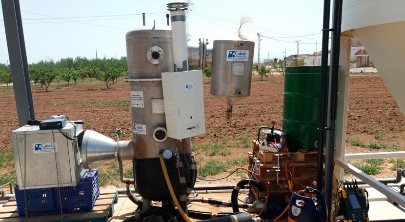 análisis sistema evaporación aguas salobres desaladoras e industrias
