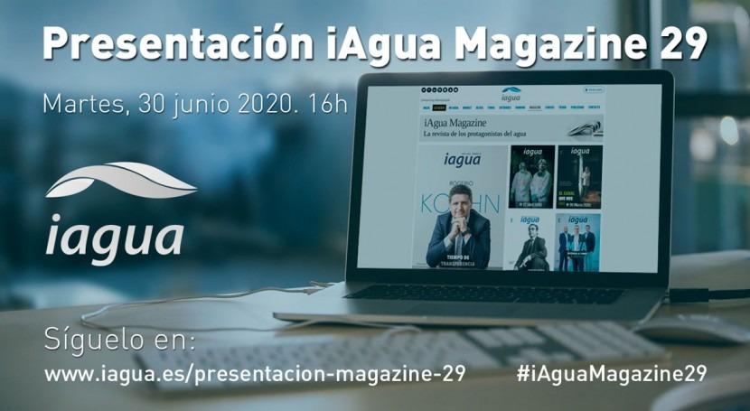 Presentación iAgua Magazine 29