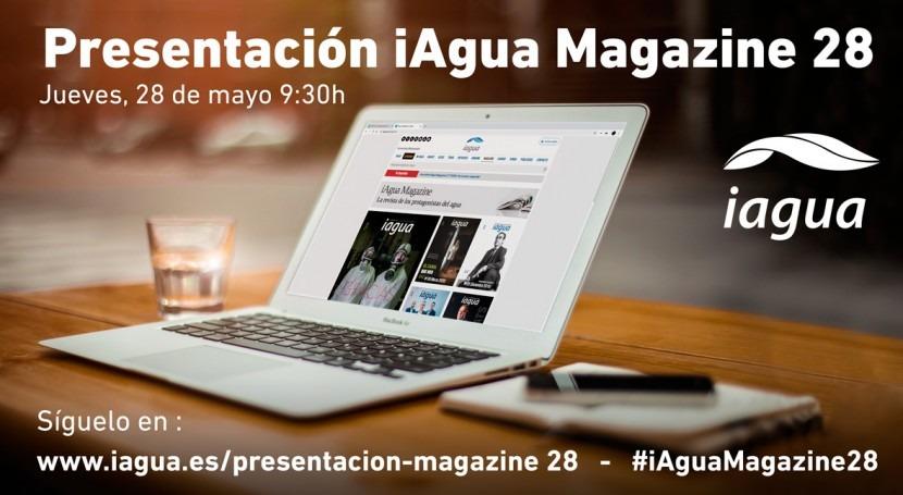 Presentación iAgua Magazine 28