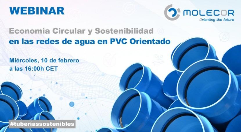 Webinar: Economía Circular y Sostenibilidad redes agua PVC Orientado