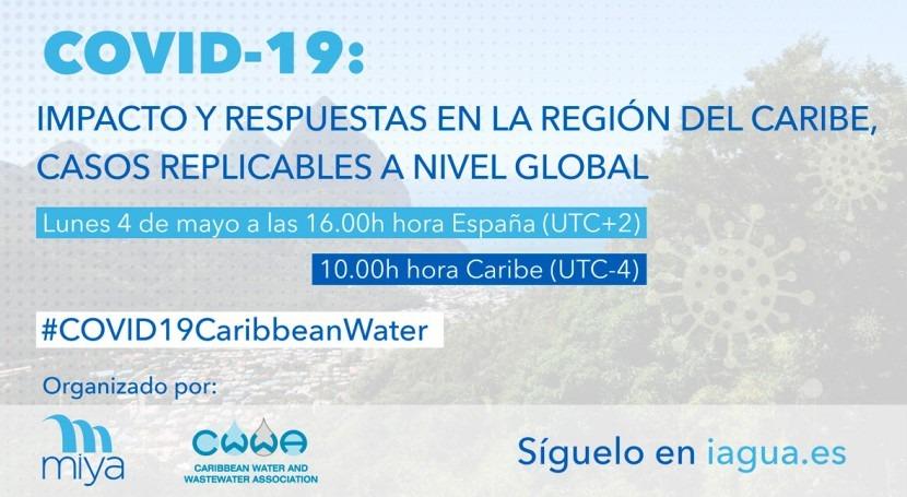 Webinar - COVID-19: Impacto y respuestas región Caribe, casos replicables nivel global