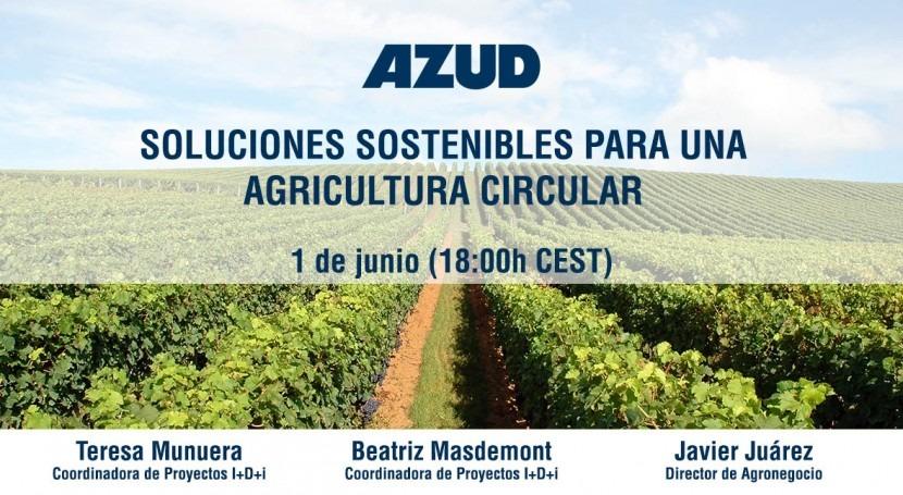 Webinar: Soluciones sostenibles agricultura circular