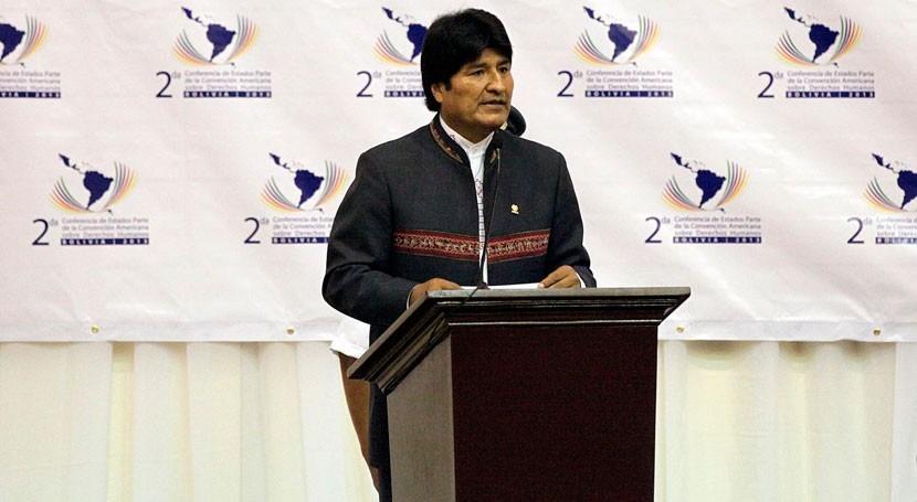 """Evo Morales: """"Harvey obliga retomar agenda seria prevención cambio climático"""""""