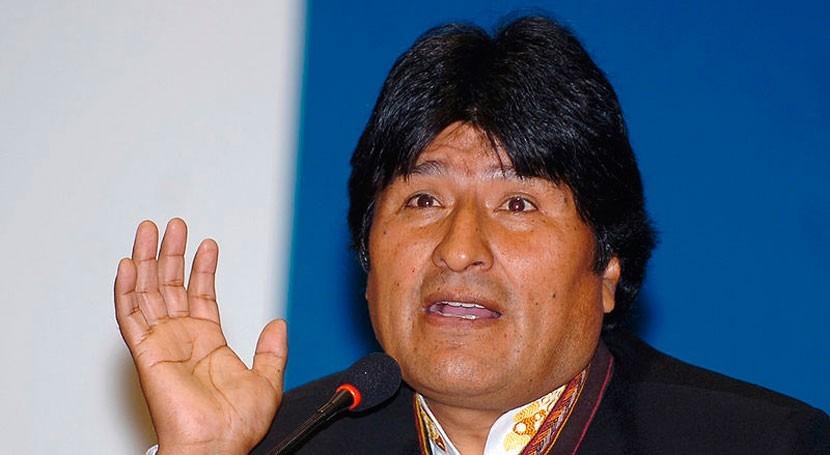 """Evo Morales: """"Chile debería preguntar Haya quién pertencen manantiales Silala"""""""