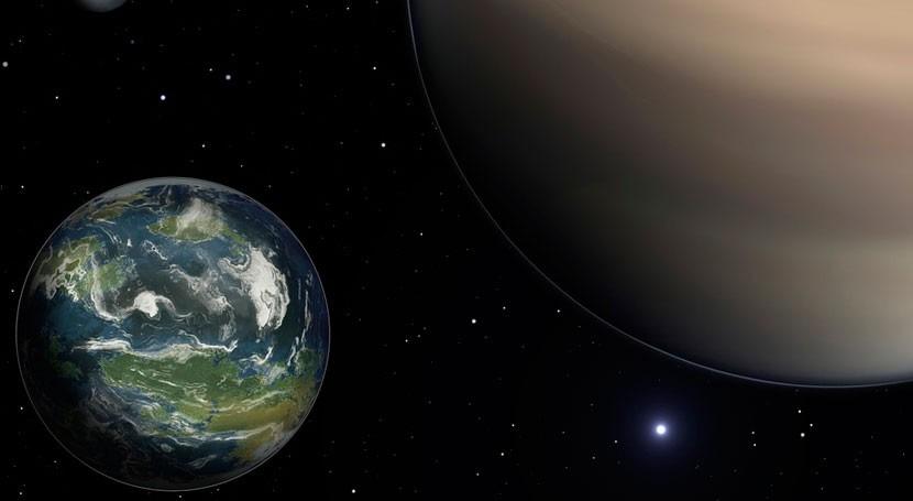 ¿Es posible exoplaneta agua y atmósfera?