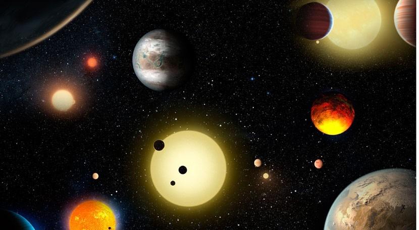 NASA descubre 9 planetas que podrían ser habitables