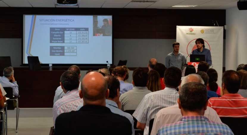 centenar expertos evalúan Badajoz medidas ahorro energético depuradoras