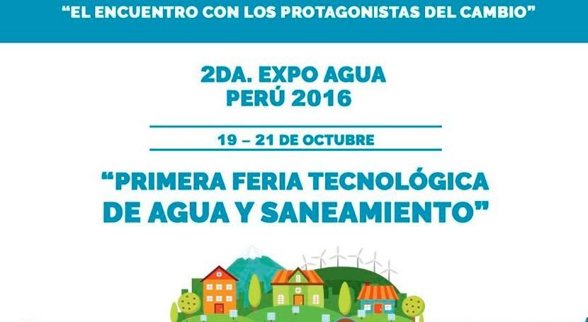 ACCIONA Agua participa EXPO Agua Perú propuestas tecnología e innovación