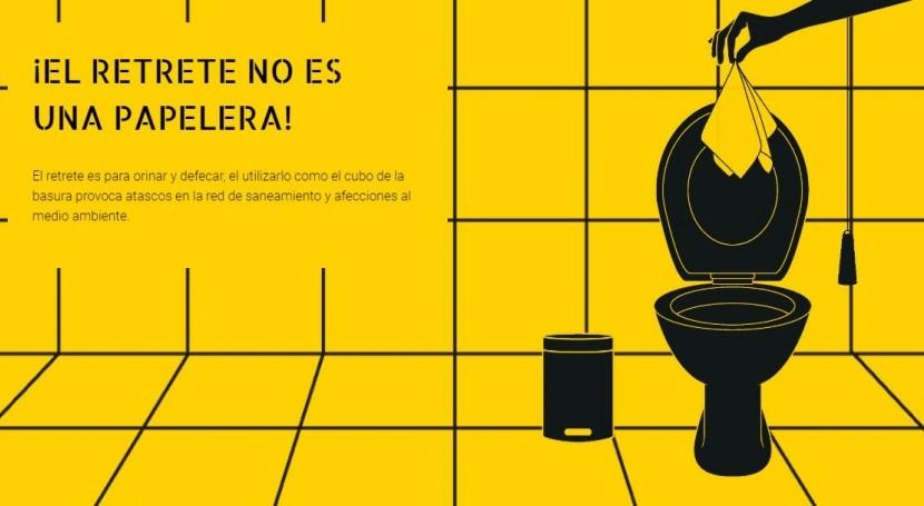 """Expo-retrete"" recorre Euskadi sensibilizar buen uso redes saneamiento"