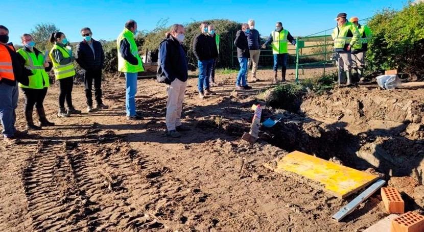 Extremadura acomete obras modernizar regadío Valdecañas 2,5 millones euros