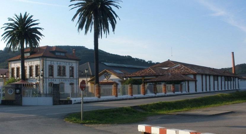 Fábrica de sidra El Gaitero (Wikipedia/CC).