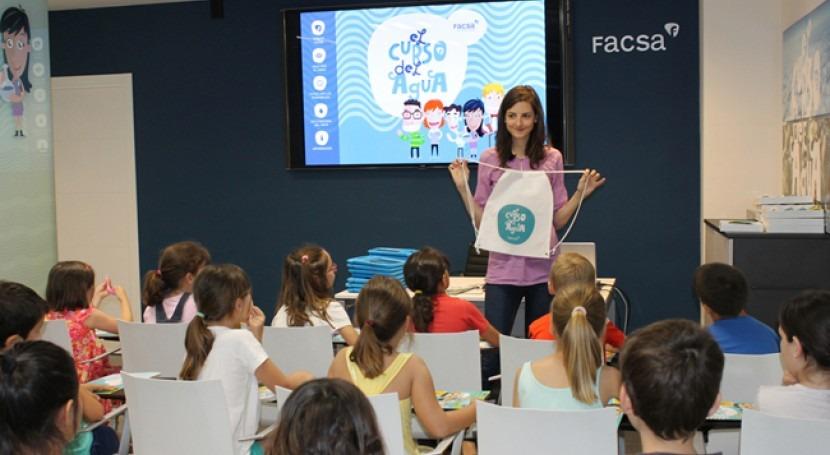 Cerca 3.500 escolares Castellón conocen ' Curso Agua' mano FACSA