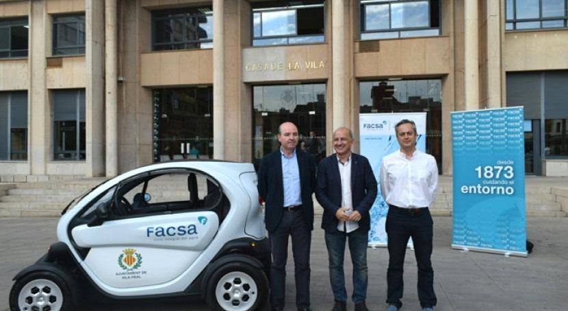 """Servicio Municipal Agua Potable Vila-real incorpora flota vehículos """"cero emisiones"""""""