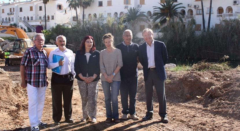 Gobierno invierte 1,5 millones euros reparar cauces dañados Alicante