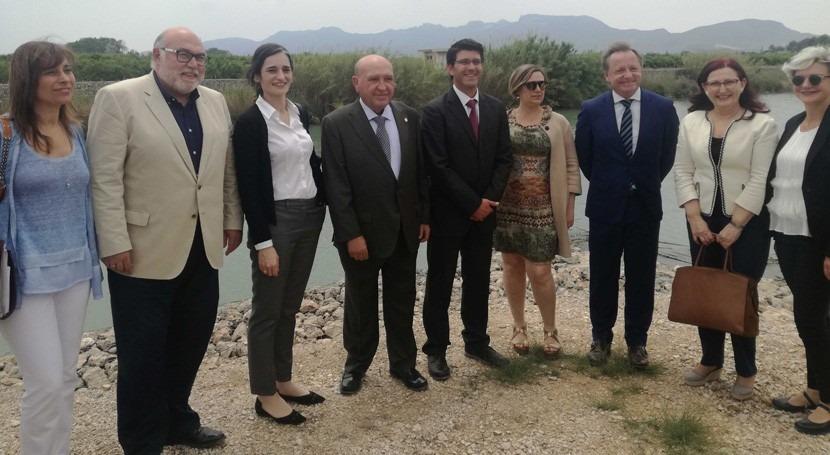 CHJ se reúne representantes Acequia Real Júcar y Regantes Sueca