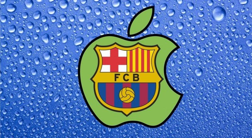 FC Barcelona, agua y alimentos