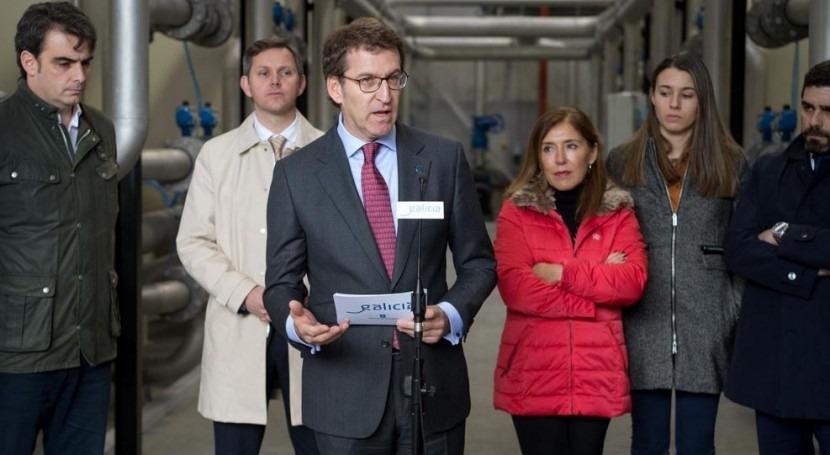 Galicia destinará 90 millones euros obras saneamiento y abastecimiento 2016