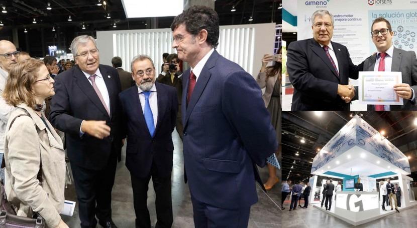 ferias Efiaqua y Ecofira reconocen vanguardia tecnológica Gimeno Servicios