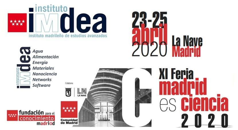 Instituto IMDEA Agua participará XI Feria Madrid es Ciencia 2020
