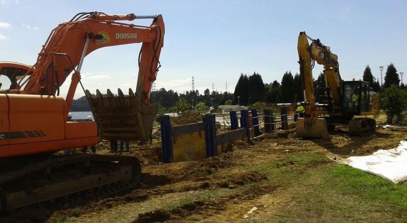 Comienzan obras colectores río Inxerto inversión 4,4 millones euros
