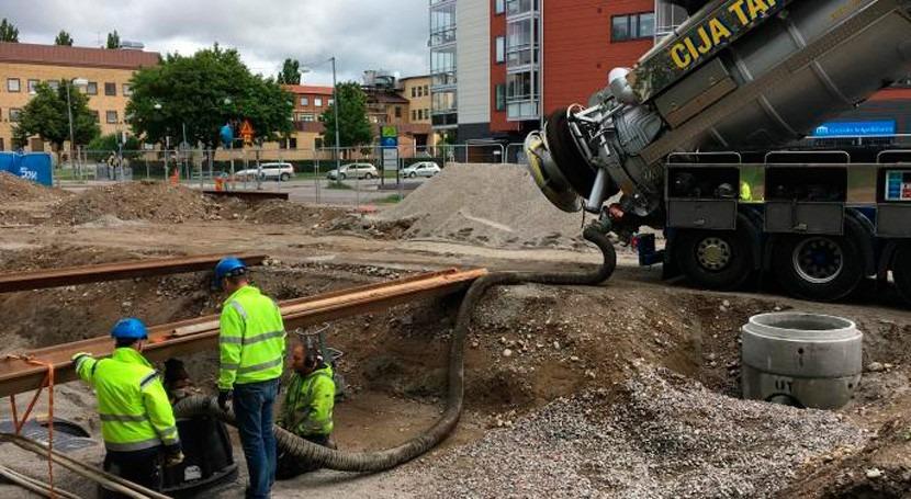 Tratamiento agua escorrentía urbana y remoción fósforo Orebro, Suecia