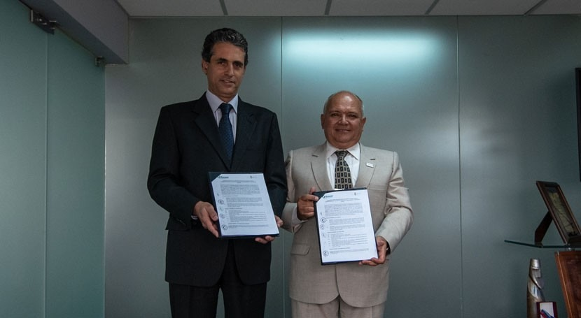 Sunass firma convenio Water For People mejora saneamiento rural