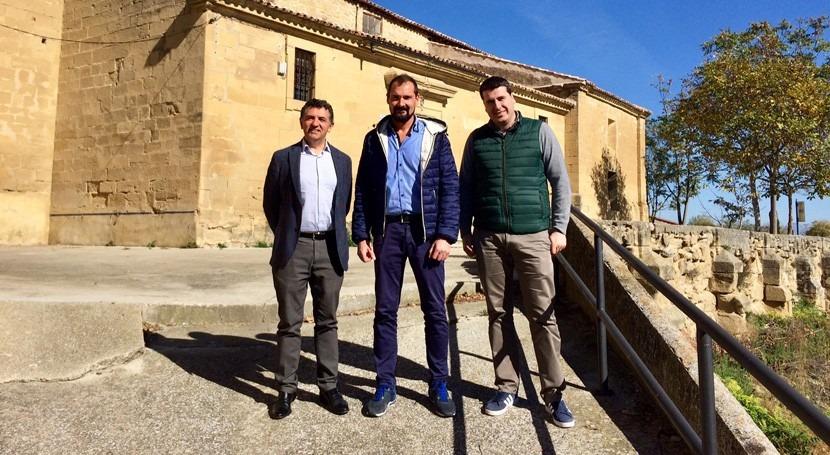 Acuerdo renovar red abastecimiento agua Villalobar Rioja