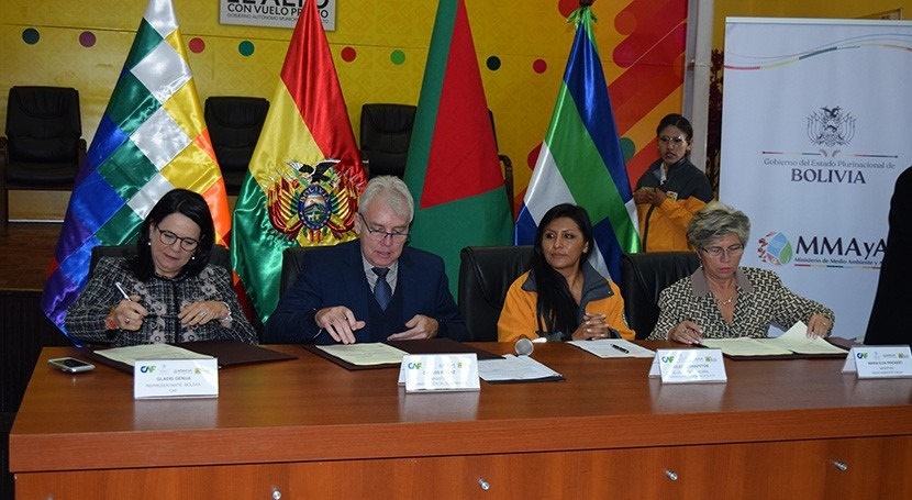 CAF financia PTAR Tacachira que beneficiará 18.000 habitantes Alto, Bolivia