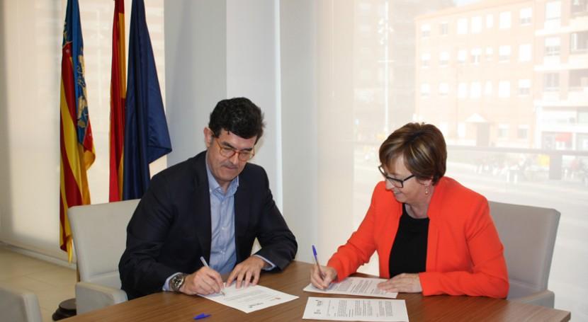 Ayuntamiento Almassora y FACSA firman convenio garantizar suministro agua