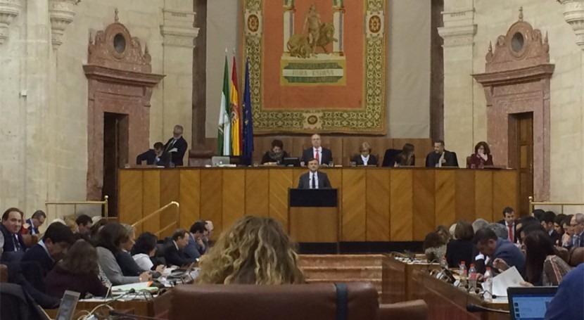 Parlamento andaluz simplifica procedimiento evaluación impacto ambiental