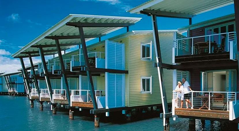 Éxito medioambiental sistema Flovac eco resort