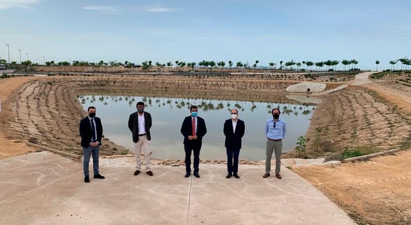 Fomento apuesta soluciones naturales e innovadoras minimizar inundaciones Murcia
