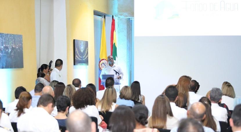 cooperación público–privada crea Fondo Agua Cartagena Colombia
