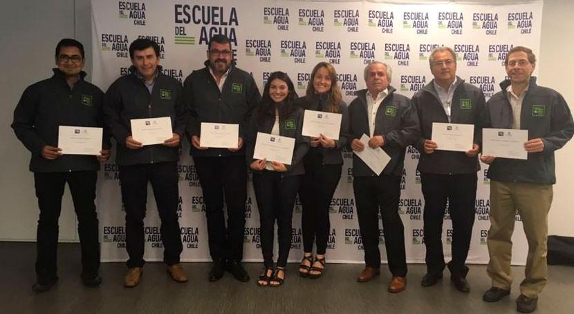 Escuela Agua forma al equipo docente Máster Tecnología y Gestión Agua Chile