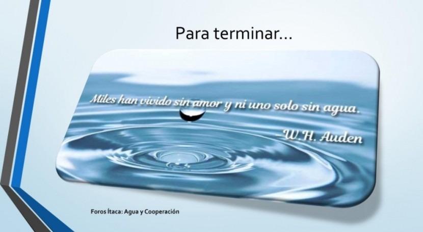 Agua y cooperación: debate