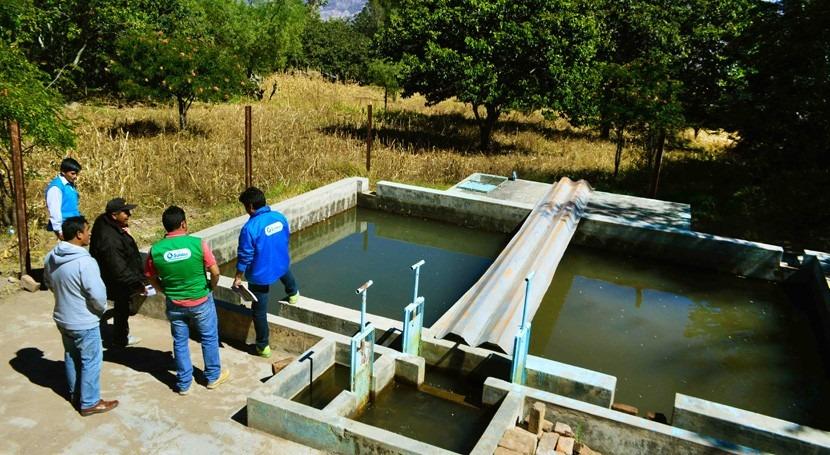 comunidades altoandinas monitorean fuentes agua