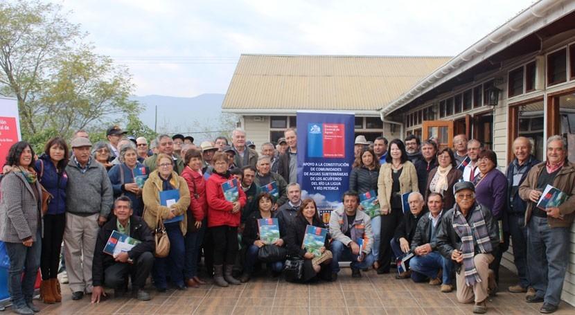 Se constituyen comunidades aguas subterráneas Ligua y Petorca Chile