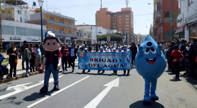 Cerca 6.000 escolares celebran Semana Nacional Agua Potable Perú