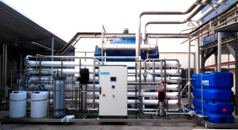 Sistema Pretratamiento y Ósmosis Inversa empresa químicos