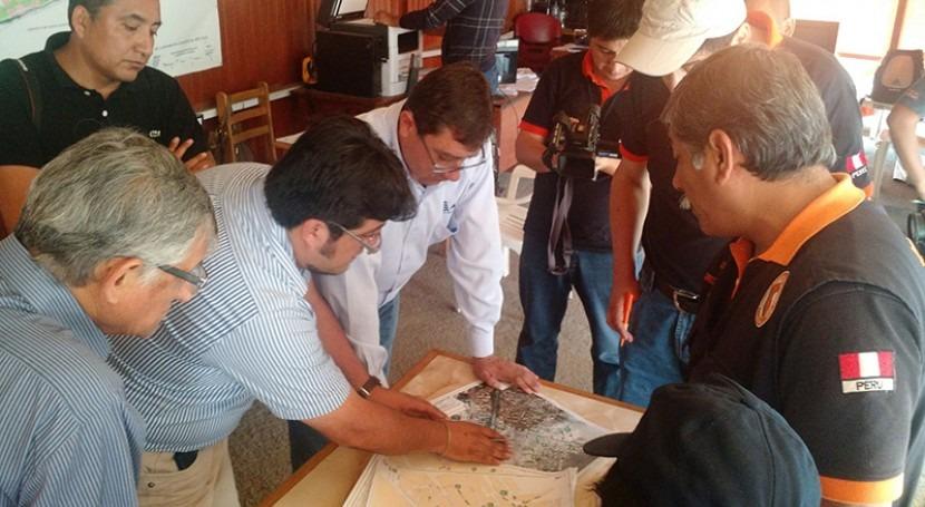 ANA Perú elabora 571 mapas evacuación como medida prevención frente al fenómeno Niño