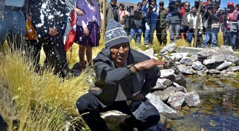 lucha aguas Silala (Bolivia-Chile)