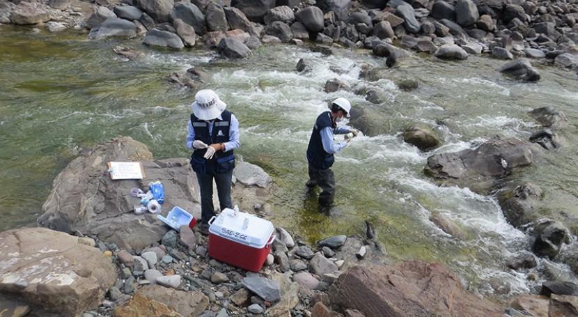 Autoridad Nacional Agua monitorea calidad agua cuenca Colca