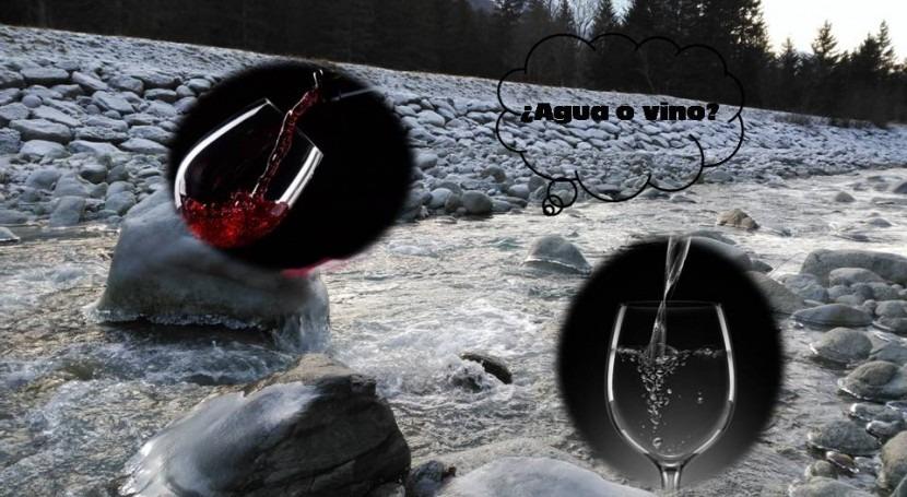 ¿Agua o vino?