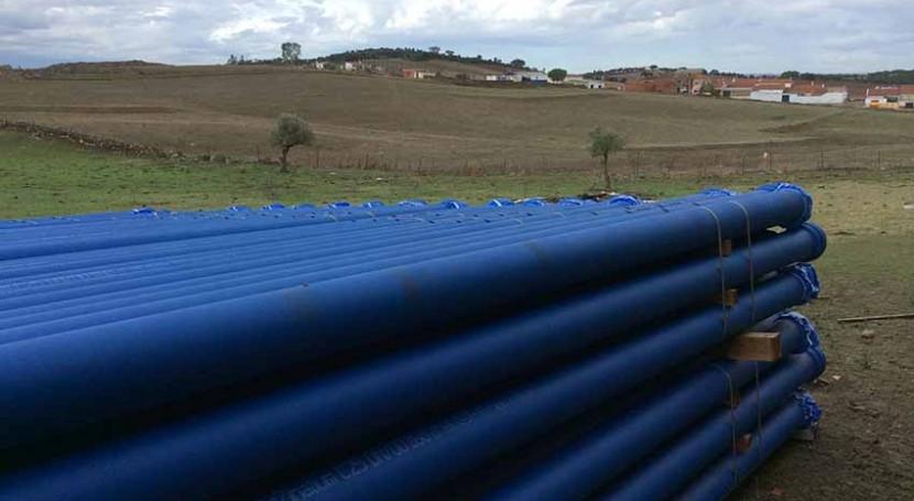 Saint-Gobain PAM España contribuye mejora abastecimiento agua Cheles