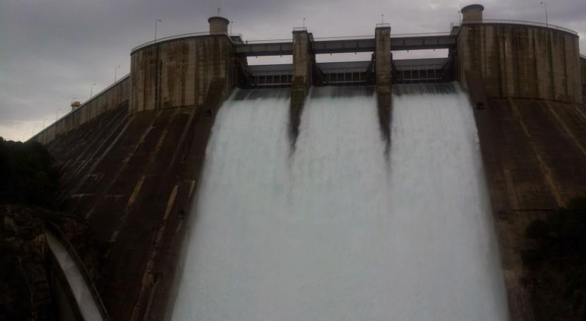 CHE inicia obra reparación desagües fondo embalse Grado (Huesca)