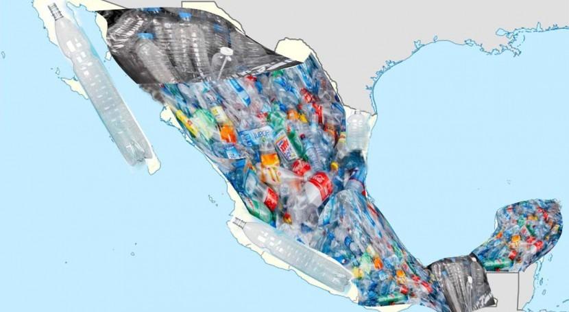 México, país mundo que más agua embotellada consume