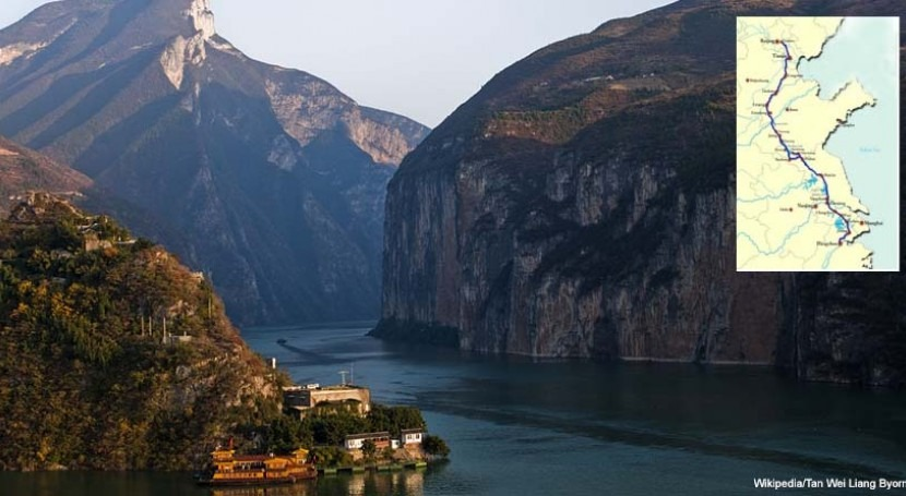 5.600 km, 53.000 MEUR y 1.000 hm3. trasvase agua más grande mundo está China