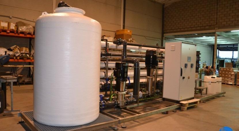 Nueva planta aporte agua procesos fabricación zumos