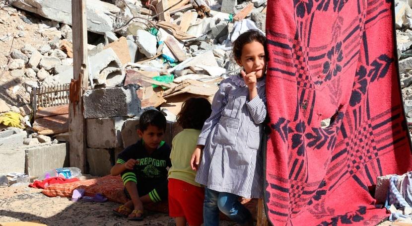 suministro agua potable y otros servicios básicos colapsan Gaza